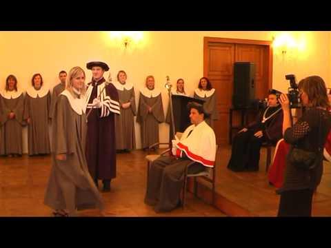 Promoce 2010 Slezská univerzita v Opavě