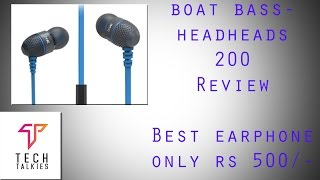 bOAT BassHeads 200 (Review) BEST Earphones Under Rs 500!