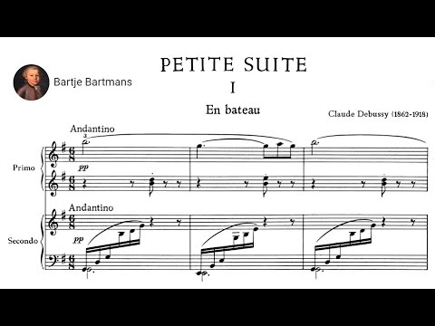 Claude Debussy - Petite Suite for Piano 4 hands