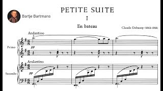 Claude Debussy Petite Suite For Piano 4 Hands