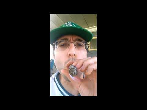 Fetish man drunk cigar
