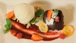 Шоколадный Брауни с ванильным мороженным. Рецепт от шеф-повара.