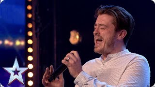 A Star is Born! Brian Gilligan performs EMOTIONAL Lady Gaga song | Auditions | BGT 2019