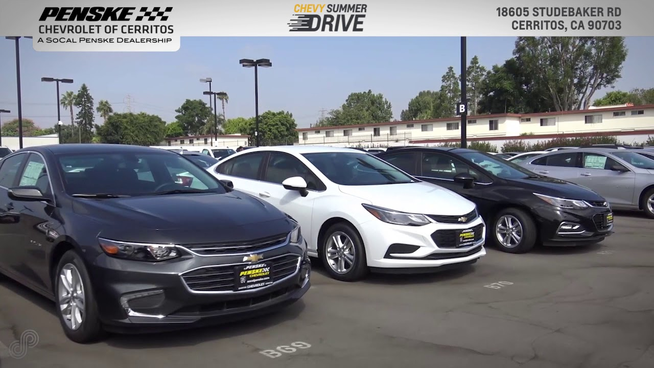 Penske Chevrolet Of Cerritos August Offers SPS