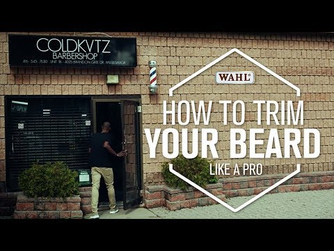 WAHL CANADA CONSUMER - HOW TO TRIM LIKE A PRO | With Shawn Barbz from Coldkutz Barbershop