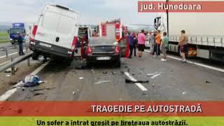 Accident mortal pe A1, între Deva și Simeria