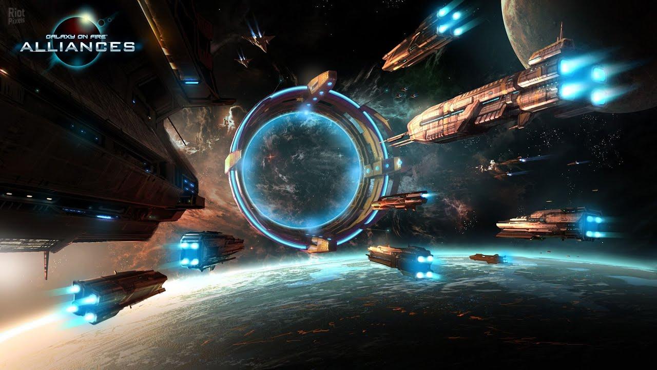 Galaxy on fire Alliances Обзор - YouTube