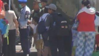 Ratusan Korban Gempa Dievakuasi ke Manado dengan Hercules