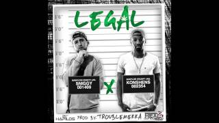 Sniggy Ft. Konshens - Legal (Raw) (Official Audio) | Dancehall 2015 |  @21stHapilos