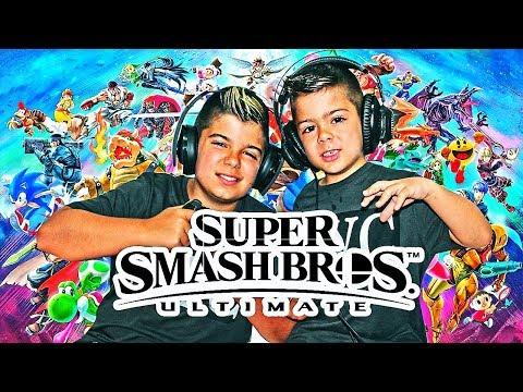 SUPER SMASH BROS ULTIMATE PARA SWITCH!!! JUEGUEGAZO COLGAUUUS