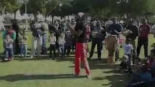India Community find capoeira at Zabeel Park Dubai
