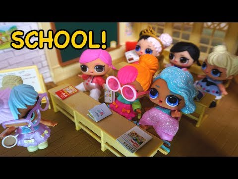 Thumbnail: BARBIE Helps LOL SURPRISE DOLLS Get Ready For Their First Day Of School!
