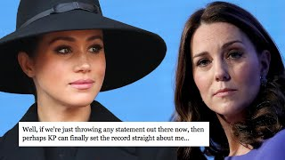 Royal Expert Reveals Meghan Markle's Email to the Palace About Kate Middleton Crying Incident