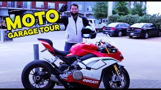 GARAGE TOUR this HUGE Motorcycle Collection Blows My Mind