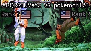 Street Fighter III: 3rd Strike: (US) ABQRSTUVXYZ vs (US) pokemon123 - 2021-02-27 02:40:34