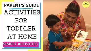 Activities for Toddler | Tips for parents| toddler development