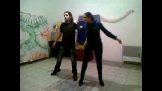 Аня и Виталик. Репетиция свадебного танца.