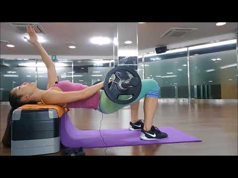 허벅지가 안 굵어지면서 엉덩이 근육 키우는 힙뜨러스트 제대로 하는 법 - 고민수