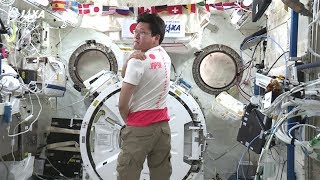 金井宇宙飛行士から平昌オリンピック日本代表選手団に向けた応援メッセージ 金井宣茂 検索動画 20