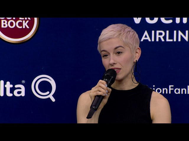 SuRie | Reino Unido | Press Conference | Eurovisão 2018