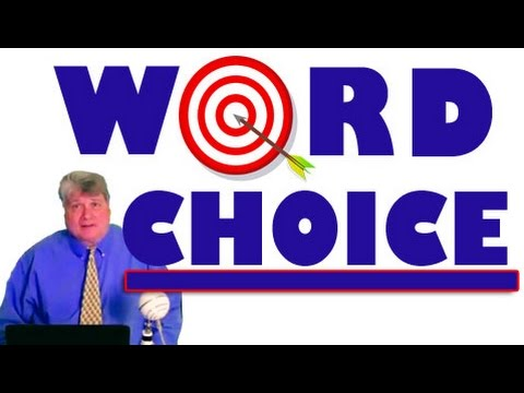 improve and word choice and essay In this video, we will discuss how word choice sets the tone for your essay this includes letting the reader know if you are angry, happy or even.