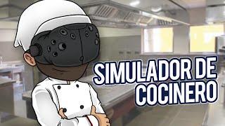 SIMULADOR DE COCINERO EN REALIDAD VIRTUAL (HTC VIVE) | iTownGamePlay