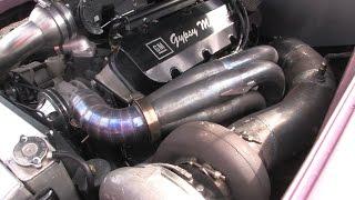 8 second full street turbo holden pop666