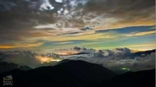 合歡山星空銀河 隙頂雲海 縮時攝影 TIME LAPSE  BY  YOCOWOL HD 1080P