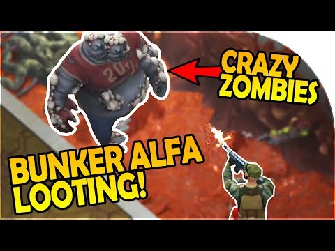 BUNKER ALFA VAULT LOOTING -CRAZIEST ZOMBIES EVER, BUNKER ALPHA - Last Day on Earth Survival Gameplay