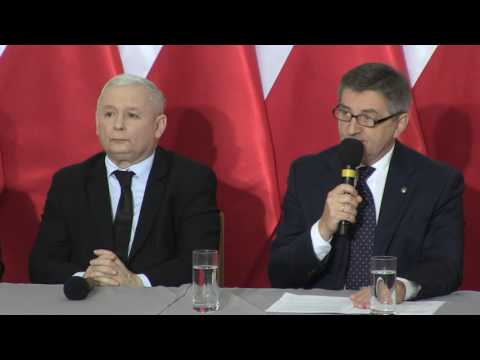 Marek Kuchciński - Oświadczenie Marszałka Sejmu