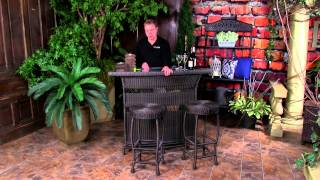 Dreamcoast Monza Bar Patio Furniture Overview