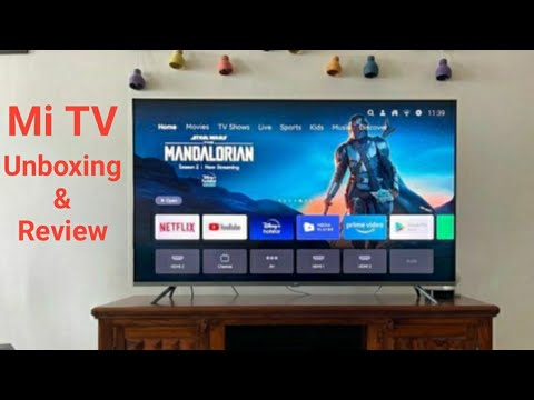 Mi Tv Unboxing and Review | Mi 4A 100 cm (40) Full HD LED Smart Android TV With Google Data Saver