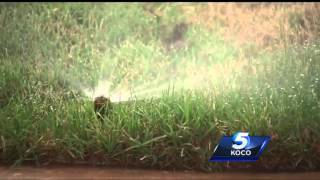 Water restrictions for Oklahoma City