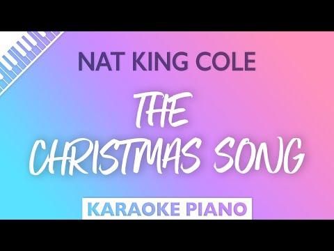 The Christmas Song (Piano Karaoke Instrumental) Nat King Cole