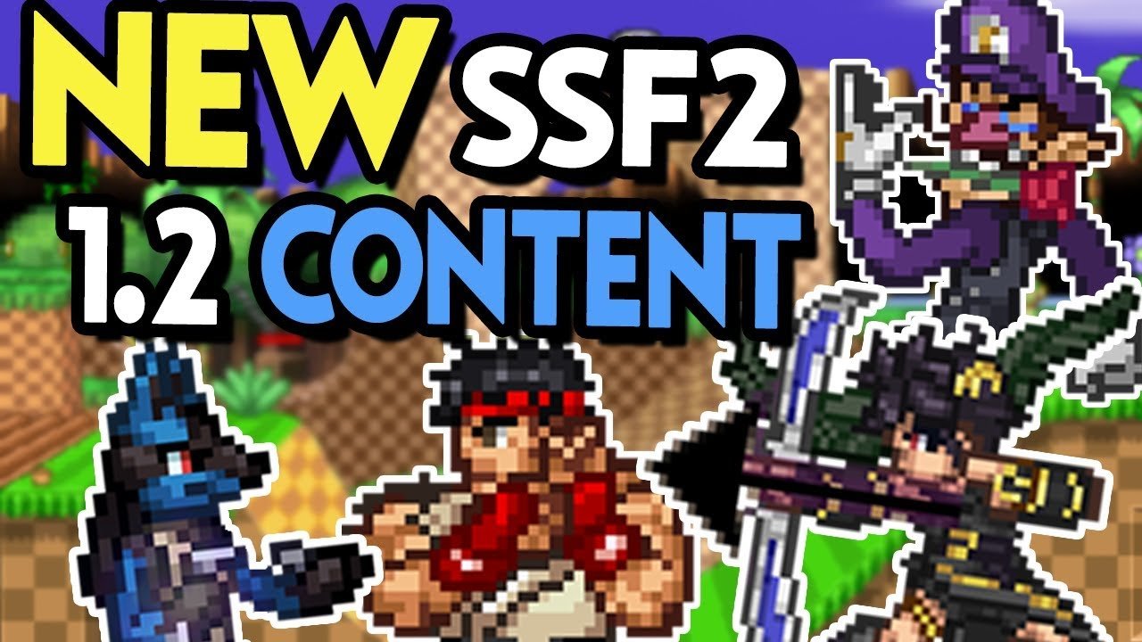 SSF2 New Characters First Impressions + New Details on 1.2!