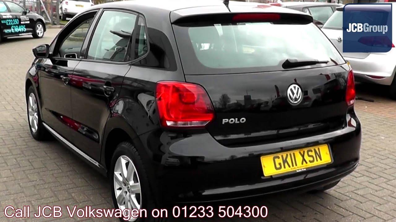 2011 Volkswagen Polo Hatch Se 1 2l Deep Black Pearl Effect