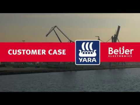 Beijer Electronics customer case: Yara Marine Technologies