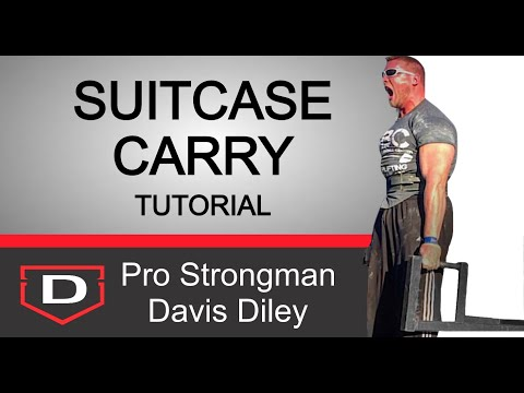 Core Stability | The Suitcase Carry: A Simple Tutorial
