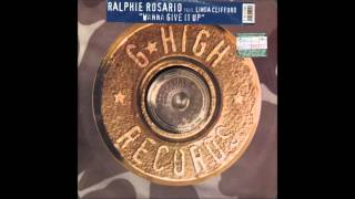 Ralphi Rosario with Linda Clifford - Wanna Give It Up (Lego