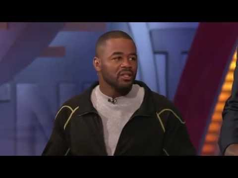 Jon Bones Jones and Suga Rashad Evans visit the NBA TNT crew (VERY FUNNY)
