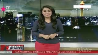 Brigita Manohara Kabar Hari Ini TVONE EPS.17-03-2017, Pinggul Seksi
