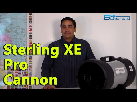 Sterling XE Pro Cannon. Pro Power of Ozone and Look