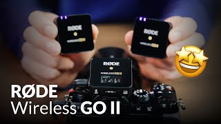 Rode Wireless Go II – Feature Überblick, Review & Tutorial Deutsch