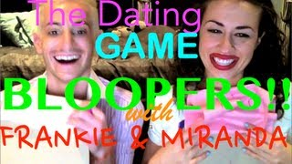 The Dating Game BLOOPERS!! - Frankie & Miranda Sings