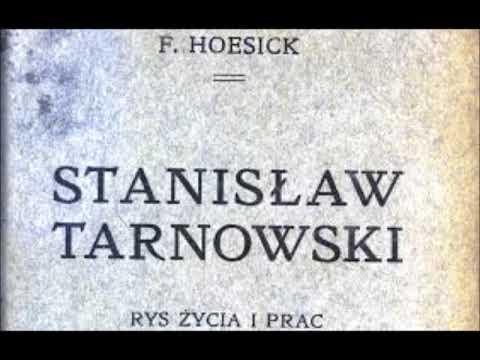 Historyczne spory   Stanisław hrabia Tarnowski