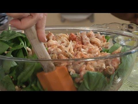 Holly Clegg's Kitchen — Crawfish Poppyseed Pasta Salad