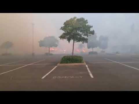 Santa Rosa Fires: Home Depot in Santa Rosa