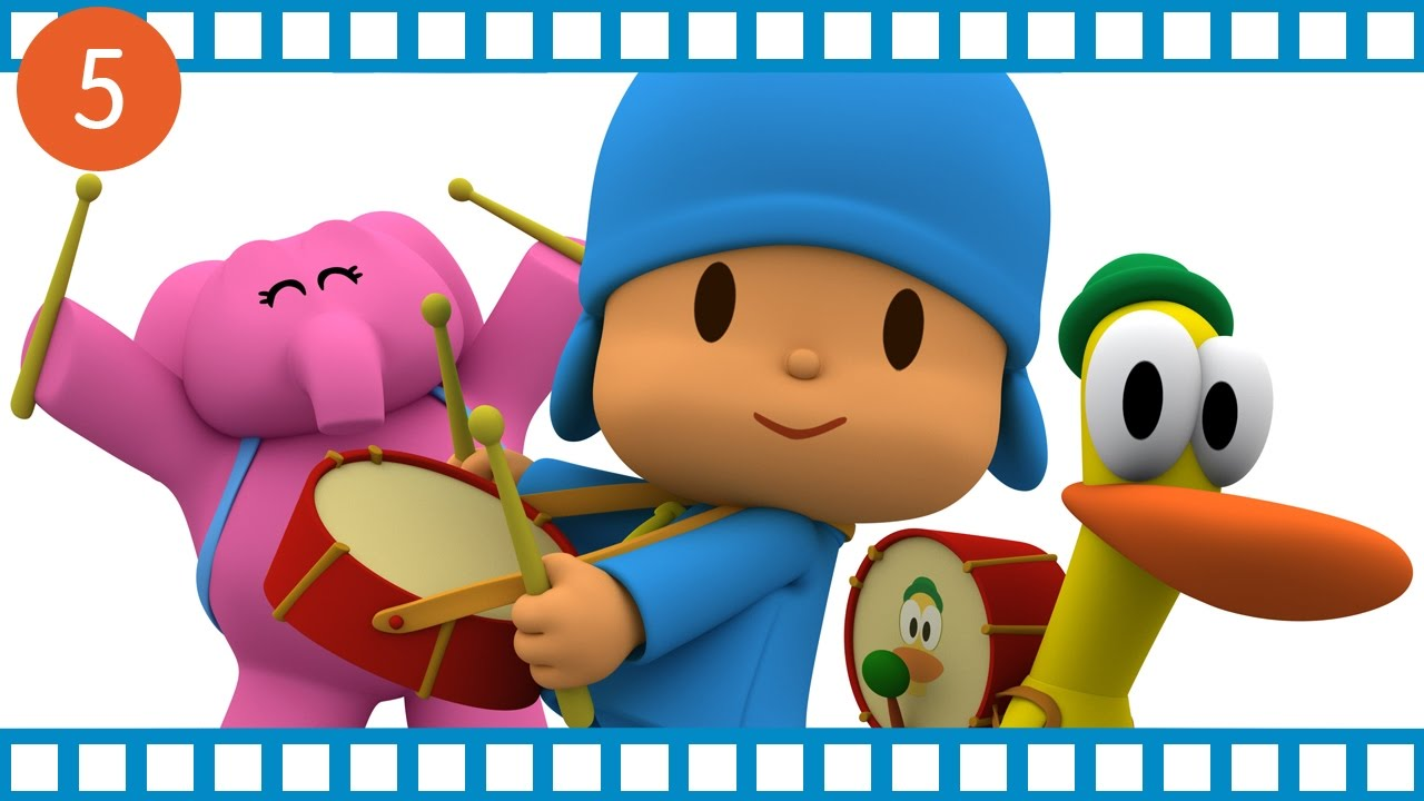 Pocoyo mezz 39 ora di cartone animato educativo per i for Video di cartoni animati per bambini