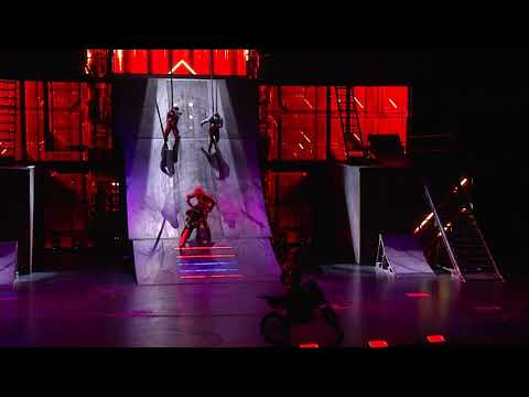 R.U.N Live Action Thriller - Preview Of Latest Show By Cirque Du Soleil In Las Vegas