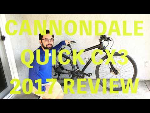 4db44439aa2 CANNONDALE QUICK CX 3 2017 REVIEW l GRAB YOUR WORLD - YouTube